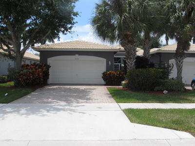 Boynton Beach FL Single Family Home For Sale: $282,000
