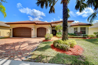 Boca Raton Single Family Home For Sale: 19558 Saturnia Lakes Drive