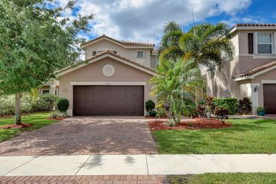Boynton Beach Single Family Home For Sale: 8134 Brigamar Isles Avenue