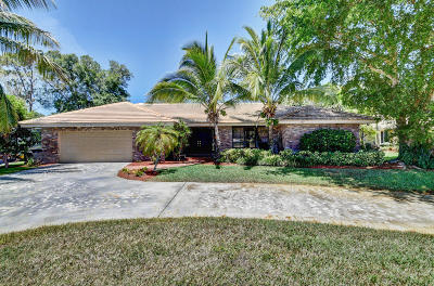 Boca Raton Single Family Home For Sale: 20877 Escudo Drive