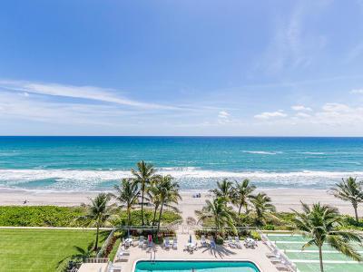 Highland Beach Condo For Sale: 3101 S Ocean Boulevard #714