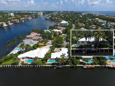 Delray Beach Single Family Home For Sale: 1010 Poinsettia Road