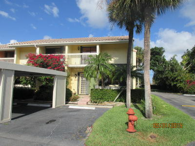 Boynton Beach Townhouse For Sale: 612 NE 20th Lane