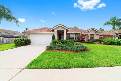 Lake Worth Single Family Home For Sale: 6598 Lake Loran Way