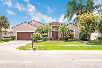 boynton beach Single Family Home For Sale: 6786 Treves Way