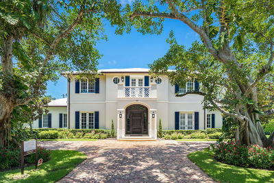 Broward County, Palm Beach County Single Family Home For Sale: 201 Lakeview Drive