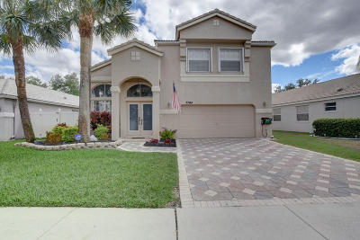 Lake Worth Single Family Home For Sale: 7704 Great Oak Drive