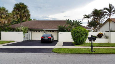 Delray Beach Townhouse For Sale: 2749 SW 5th Street