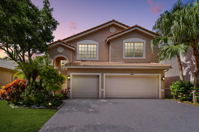 Delray Beach Single Family Home Contingent: 4814 Modern Drive