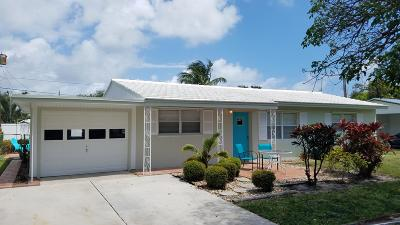 Palm Beach Gardens Single Family Home For Sale: 2317 Wallen Drive