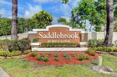 Boca Raton Single Family Home Contingent: 9863 Spanish Isles Drive