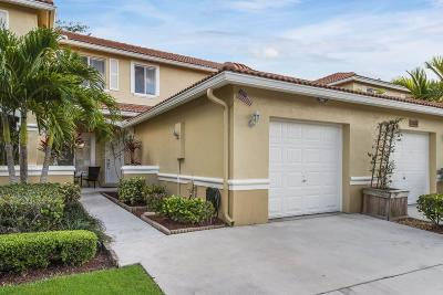 Boynton Beach Townhouse For Sale: 1513 Arezzo Circle