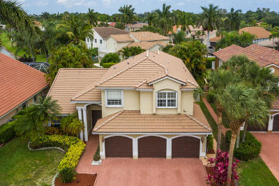 Boca Raton Single Family Home For Sale: 19571 Black Olive Lane
