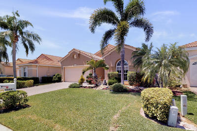 Boynton Beach Single Family Home For Sale: 6959 Ashton Street
