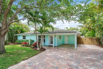 Jupiter Single Family Home For Sale: 1600 Treemont Avenue
