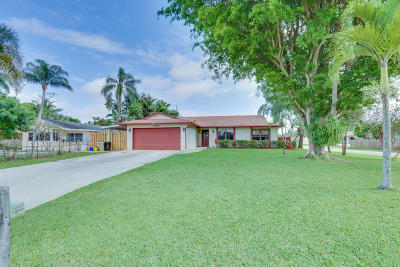 Lake Worth Single Family Home For Sale: 7387 Seabreeze Drive