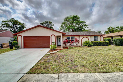 Boynton Beach Single Family Home For Sale: 5426 Benjamin Avenue