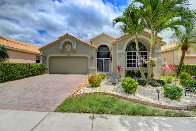 Boynton Beach Single Family Home For Sale: 10299 Copper Lake Drive