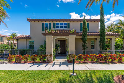Jupiter Single Family Home For Sale: 208 Diamante Way