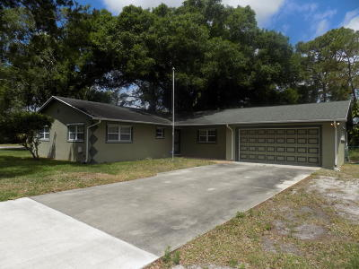 Fort Pierce Single Family Home For Sale: 8006 San Carlos Drive