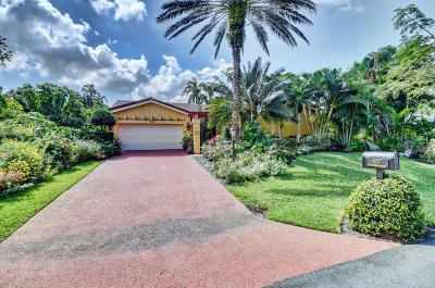 Delray Beach Single Family Home For Sale: 907 Foxpointe Circle