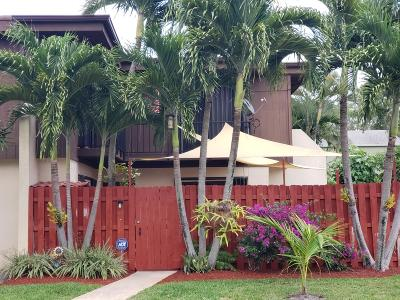 Lake Worth Townhouse For Sale: 2934 Kirk Road #37