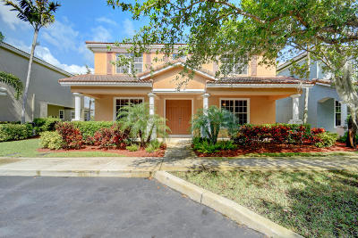 Delray Beach Single Family Home For Sale: 1443 W Bexley Park Drive