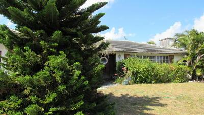Boynton Beach FL Single Family Home For Sale: $280,000