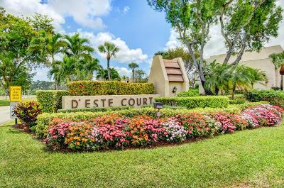 Lake Worth Condo For Sale: 4260 Deste Court #207
