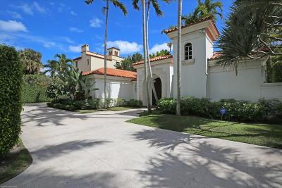 Palm Beach FL Single Family Home For Sale: $7,495,000