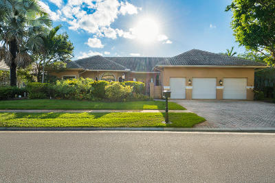 Boca Raton Single Family Home For Sale: 7892 Mandarin Drive