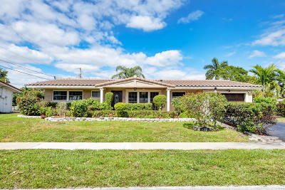 Boca Raton FL Single Family Home For Sale: $464,900