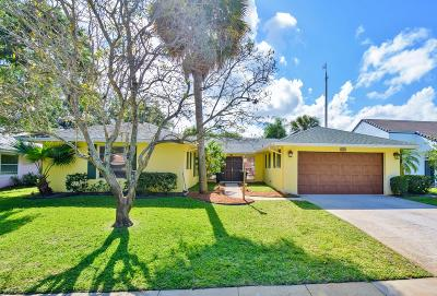 North Palm Beach Single Family Home For Sale: 2641 Pepperwood Circle