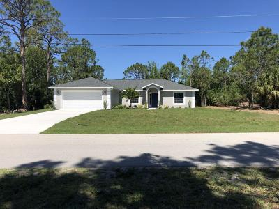 Port Saint Lucie Single Family Home For Sale: 5750 NW Zenith Drive