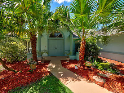 Jupiter Single Family Home For Sale: 16651 Haynie Lane