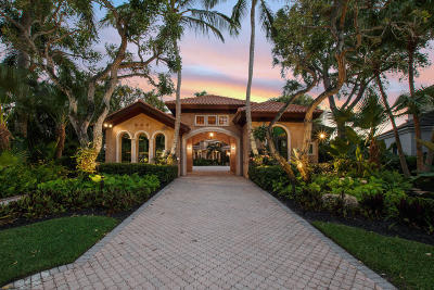 Palm Beach Gardens FL Single Family Home Contingent: $3,950,000
