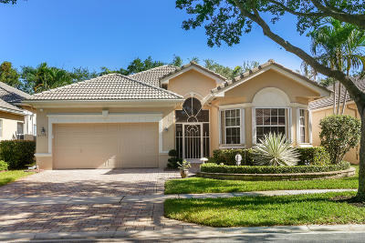 Boynton Beach Single Family Home For Sale: 7119 Vesuvio Place