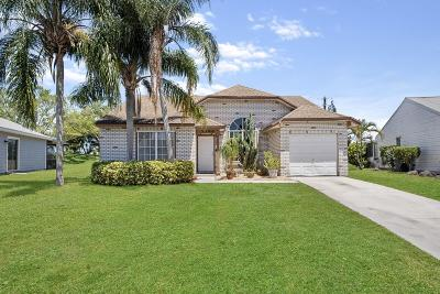 Boynton Beach Single Family Home For Sale: 5586 Pebble Brook Lane