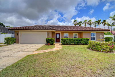 Boca Raton Single Family Home For Sale: 5555 Wind Drift Lane