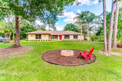 Jupiter Single Family Home For Sale: 16674 122nd Drive