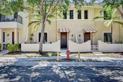 Boynton Beach Townhouse For Sale: 2508 Venetian Court