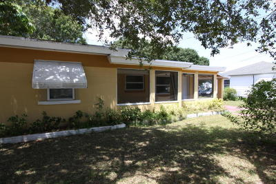 Single Family Home For Sale: 2003 Sunrise Boulevard