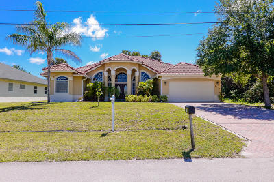 Port Saint Lucie, Saint Lucie West Single Family Home For Sale: 4413 SW Wabash Street