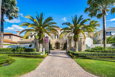 Boca Raton Single Family Home For Sale: 324 E Coconut Palm Road