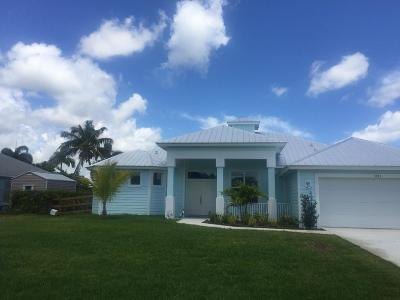 Port Saint Lucie, Saint Lucie West Single Family Home For Sale: 5333 NW Milner Drive