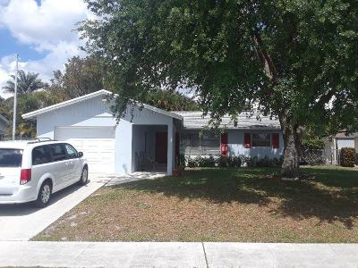 Lake Worth Single Family Home For Sale: 4099 Kent Avenue