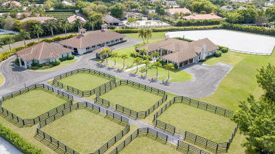 Wellington Single Family Home For Sale: 14136 Equestrian Way