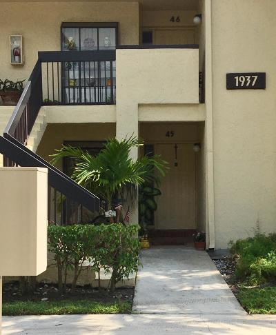 Broward County Condo For Sale: 1937 SW 15th Street #45