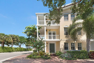 Delray Beach Townhouse For Sale: 1003 W Heritage Club Circle