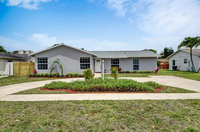 Delray Beach FL Single Family Home For Sale: $325,000